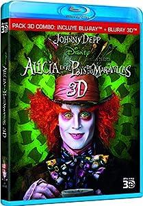 Alicia En El País De Las Maravillas (Blu-ray 2D + 3D) [Blu-ray 3D] [Import espagnol]