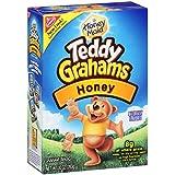 Teddy Graham Crackers, Honey, 10 oz (Pack of 6)