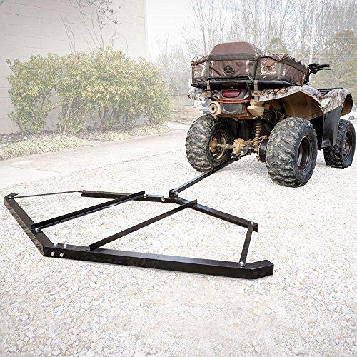 Garden Tractor Drag : Titan adjustable tow behind atv utv lawn tractor harrow