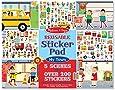 Melissa & Doug Reusable Sticker Pad - My Town