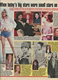 Michele Pfeiffer Delta Burke original clipping magazine photo 1pg 9x12 #R2981