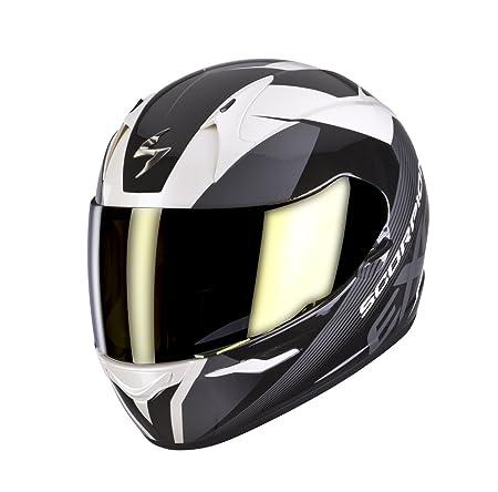 SCORPION eXO - 410 casque intégral aIR coupe-blanc, noir, gris
