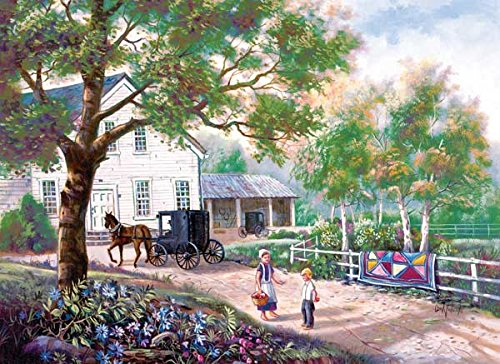 Amish Country Home a 500-Piece Jigsaw Puzzle