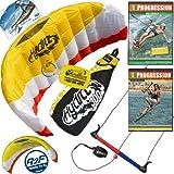 HQ Hydra II 300 V2 Kiteboarding Trainer Kite + x2 DVD Bundle : Including Progression... by HQ Power Kites, Fat Sand Video Productions, IKO, WindBone