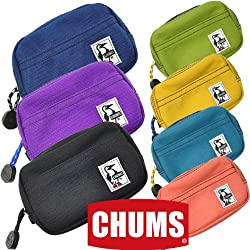 (チャムス) CHUMS デュアルソフトケース コーデュラナイロン ネイビー カメラケース