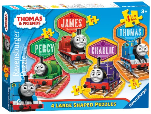 Thomas & Friends: 4 Friends 4 Shaped Puzzles