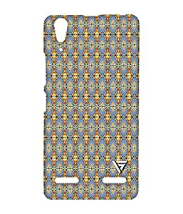 Vogueshell Jaipuri Pattern Printed Symmetry PRO Series Hard Back Case for Lenovo A6000