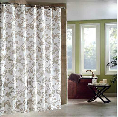 Eforgift Paisley Patterns Polyester Shower Curtain Fabric Bath Curtain ...