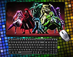 Classic TM Anime Akame ga Kill! Akame,Kurome,Mine,Leone,Sheele,Chelsea Large Mouse Pad 60x35cm anime Desk & Mouse Pad Table Play Mat (20)