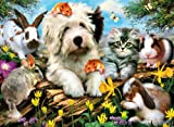 Clementoni 30286.4 Jigsaw Puzzle 500 Pieces Furry Friends