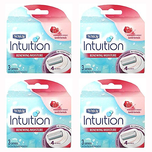 schick-intuition-renewing-moisture-pomegranate-womens-razor-refill-cartridges-12-count