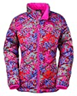 The North Face Aconcagua Jacket Girl's Metallic Silver Print M