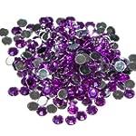 Pack of 1000 x Purple Crystal Flat Ba...
