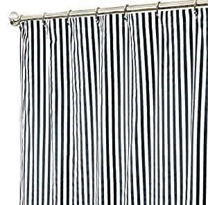Extra Long Shower Curtain Fabric Shower Curtains Bathroom Curtains Gray Stripe 84