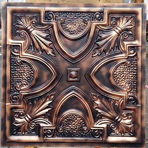 Finition vieillie PL11 imitation dalles de plafond en relief fond photosgraphie Panneaux muraux Decoration 10pieces/lot