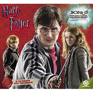 2011  Harry Potter and the Deathly Hallows  Wall Calendar (Calendar)