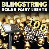 The Solar Centre Blingstring Fairy Lights - Warm White 100 LEDs  from The Solar Centre