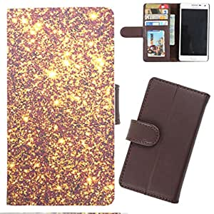 DooDa - For LG L80 PU Leather Designer Fashionable Fancy Wallet Flip Case Cover Pouch With Card, ID & Cash Slots And Smooth Inner Velvet With Strong Magnetic Lock