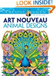 Creative Haven Art Nouveau Animal Des...