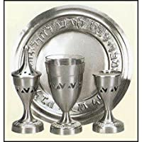 Pewter Finish Havdallah Set