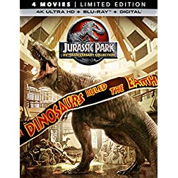 Jurassic Park (25th Anniversary Collection) [4K Ultra HD + Blu-ray]