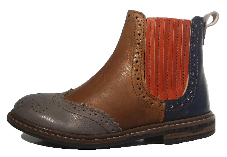 Pinocchio Stiefel Chelsea Boots Leder Reißverschluss braun günstig