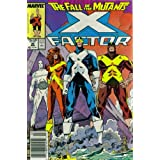 X-Factor #26 : Casualties (The Fall of the Mutants - Marvel Comics)