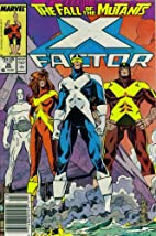 X-Factor #26 - Casualties by Louise Simonson