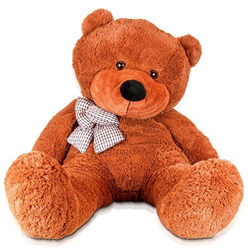 DIS Riesen 120cm dunkel braun Teddybär XXL Plüsch