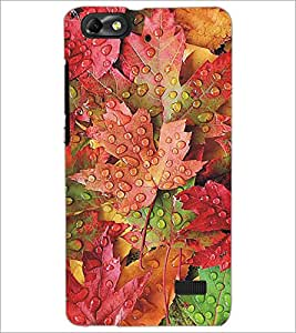 PRINTSWAG WET FLOWERS Designer Back Cover Case for HUAWEI HONOR 4C
