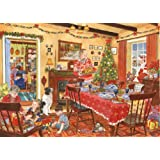 500 Piece Jigsaw Puzzle - 2013 Christmas Collectors Edition No.8 - Unexpected Guest