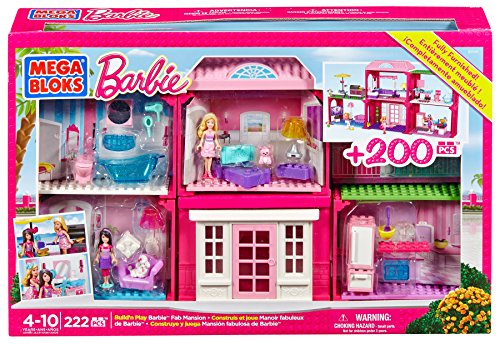 Mega Bloks 80149 - Barbie Bauen und Spielen Villa