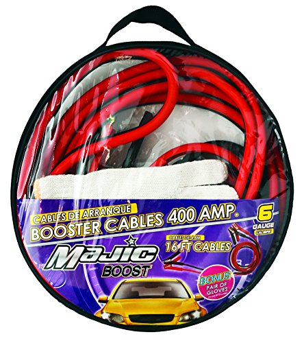 Safety Jumper Cables : Super heavy duty amp booster cable ga ft w free