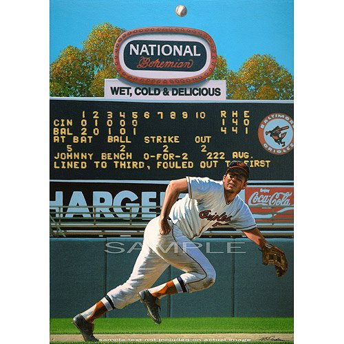 Legendary Sports Prints Baltimore Orioles Brooks Robinson Giclee at Amazon.com