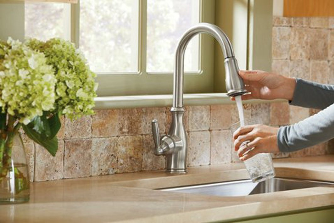 Moen Pull-down Kitchen Faucet