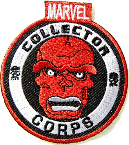 [MARVEL COLLECTOR CORPS Red Skull Head Of HYDRA Captain America Superhero Marvel The Avengers Cartoon Comics Movie Patch Sew Iron on Embroidered Applique Collection DIY By PatchPrimum] (Incredible Hulk Costume Diy)