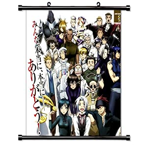 "D. Gray-Man Anime Fabric Wall Scroll Poster (16"" X 17"") Inches"