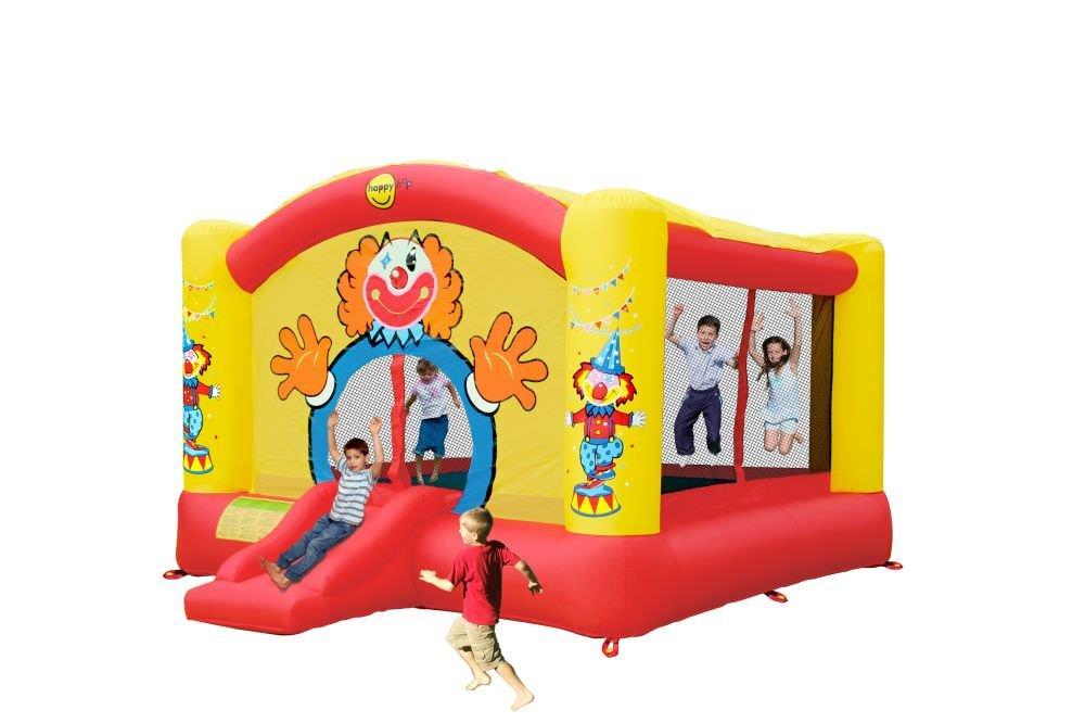 Hüpfburg Super Clown mit Rutsche und Gebläse 4,70 x 3,85 x 2,60 m online kaufen