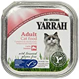 Yarrah Pate Lachs Saumon mit Seaweed 100g Bio Katzenfutter