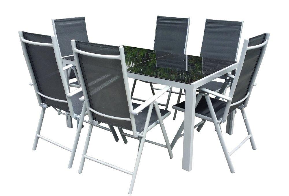 7teiliges Gartenmöbel-Set Gartengarnitur-Set GM7 Black jetzt bestellen