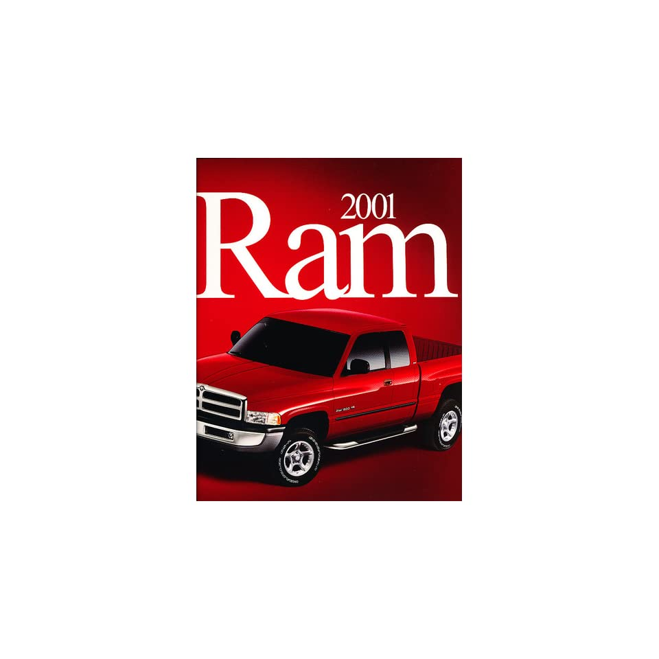 2001 Dodge Ram Pickup Truck Sales Brochure