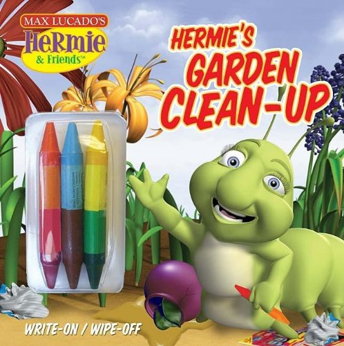 Hermie 39 s garden clean up a write on wipe off coloring for Hermie and friends coloring pages