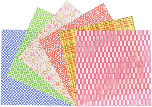 Daiyo Origami, Tokuyo Chiyogami 15cm x 15cm, 10 Patterns, 30 Each (S-Y31)
