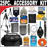 25 PC ULTIMATE SUPER SAVINGS DELUXE Smart Shop ACCESSORY KIT For The Nikon Coolpix S5200, S6500, S3500 Digital Camera