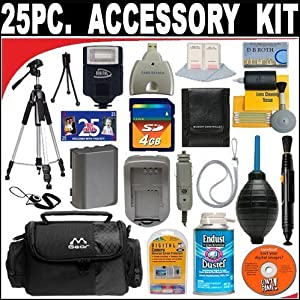 25 PC ULTIMATE SUPER SAVINGS DELUXE DB ROTH ACCESSORY KITFor The Canon EOS 60D Digital SLR Camera
