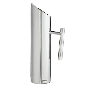 vonshef pichet eau vonshef vonshef de 1 7 litre en acier acier inoxydable avec garde. Black Bedroom Furniture Sets. Home Design Ideas