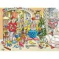 Jumbo Wasgij Christmas 3 Short Circuit Jigsaw Puzzle (500 Pieces)