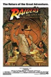 "Indiana Jones - Raiders Of The Lost Ark - Movie Poster (1982 Re-Release) (Size: 24"" x 36"")"