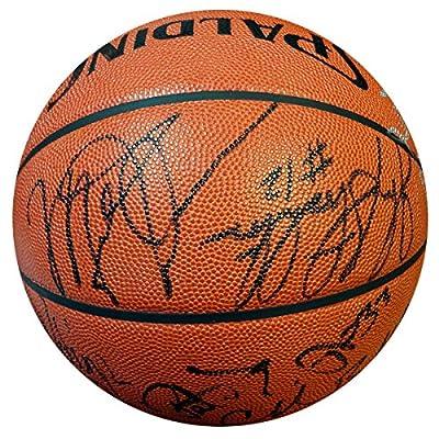 1992 Dream Team USA Team Signed Autographed NBA Basketball With 12 Signatures Including Michael Jordan, Larry Bird, Magic Johnson & Charles Barkley PSA/DNA #Z05268