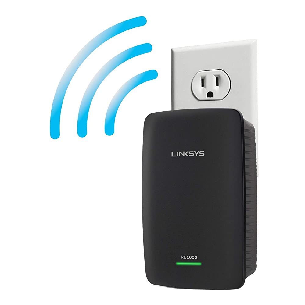 cisco linksys re1000 wireless n wifi range extender certified refurbished new. Black Bedroom Furniture Sets. Home Design Ideas